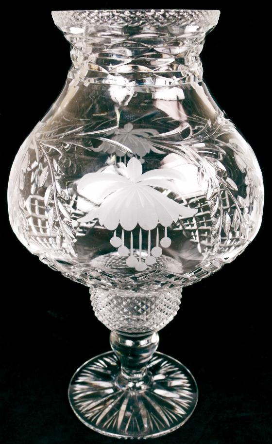 12 inch Candle Lamp Fuchsia