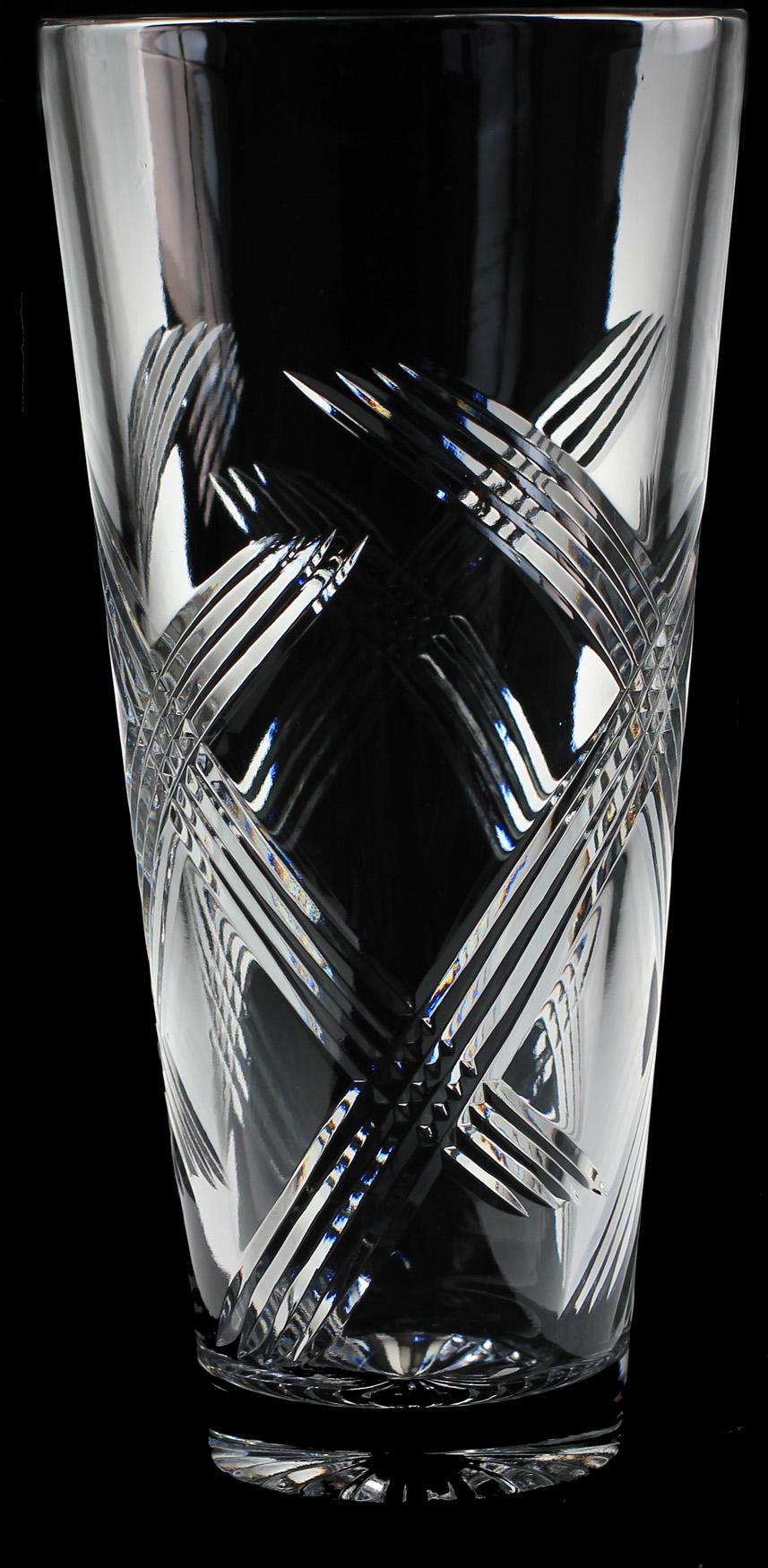 10 inch Daff Vase Fuchsia