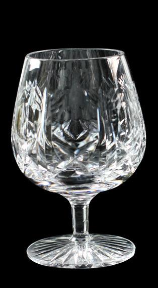 Cross & Hollow 12oz Brandy Glass