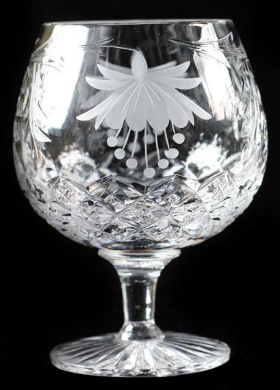 Fuchsia 20oz Brandy Glass