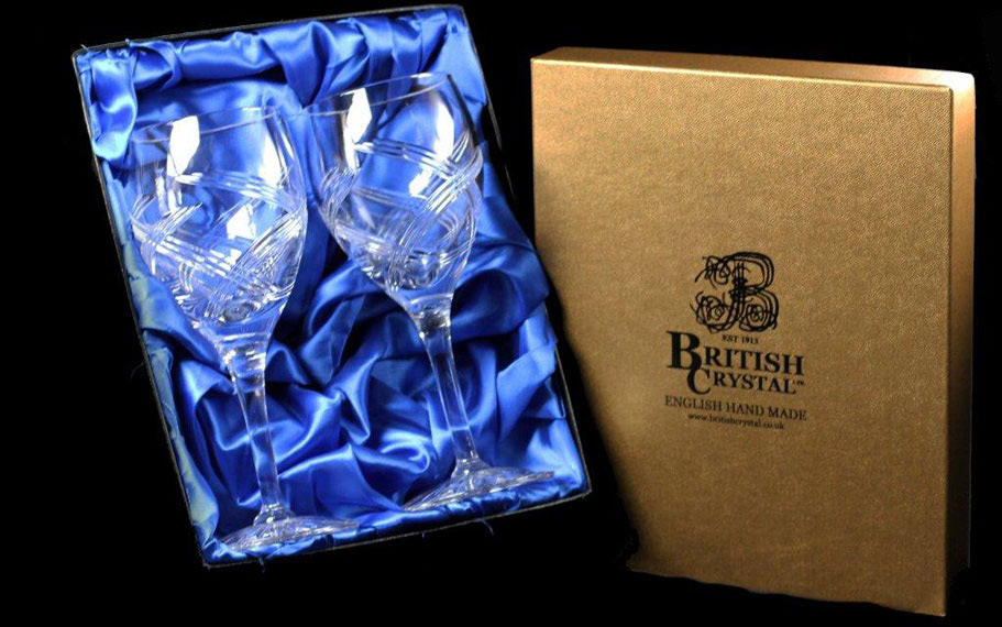 Presentation Box of 2 Celebration Goblets