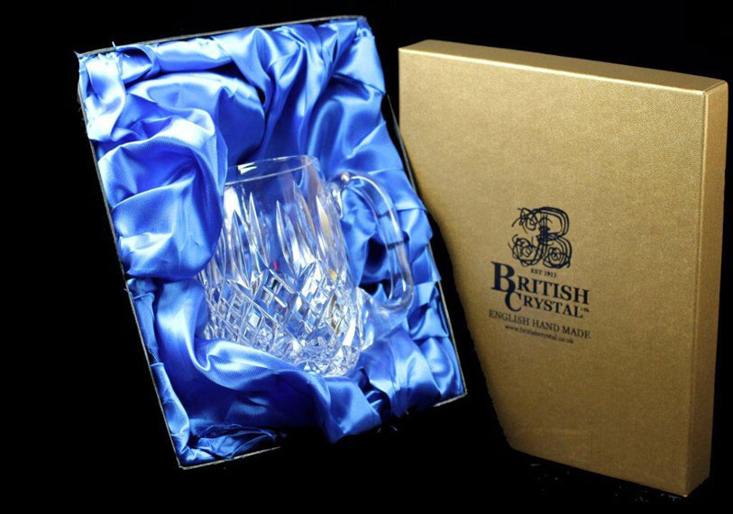 Presentation Box of a Stourton 1pt Barrel Tankard