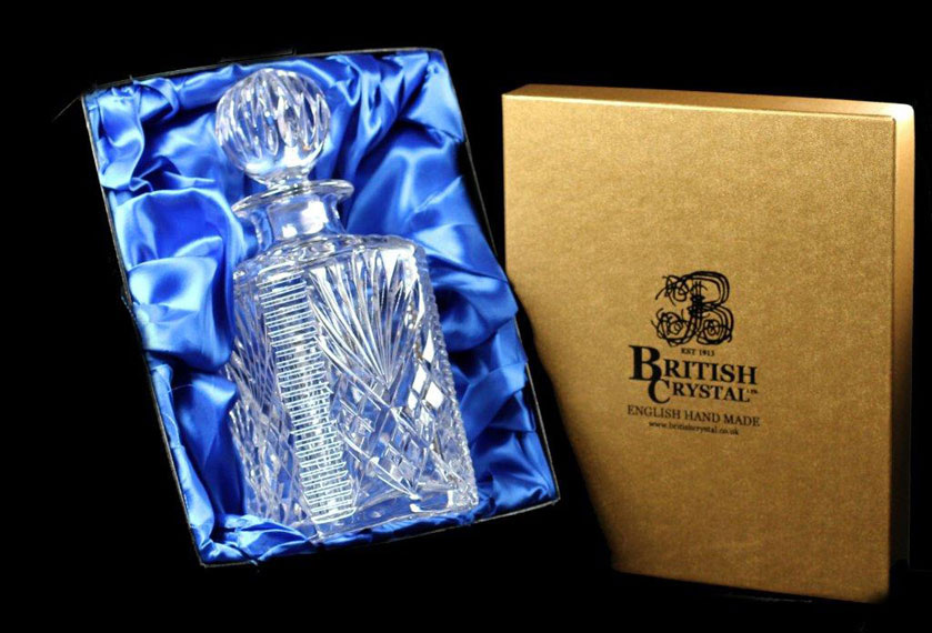 Presentation Box of a Westminster Square Decanter