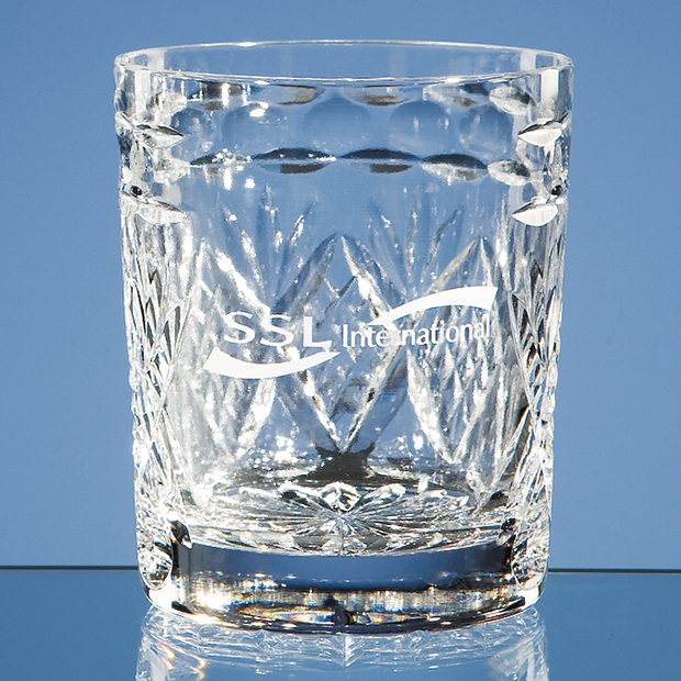 Shire Crystal Panel Whisky Tumbler