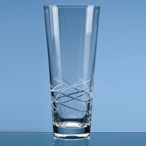 30cm Tiesto Cut Conical Vase