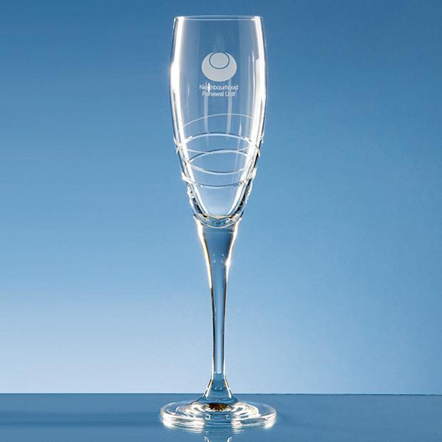 250ml Orbital Crystalite Champagne Flute
