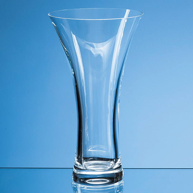 25cm Neptune Plain Trumpet Vase