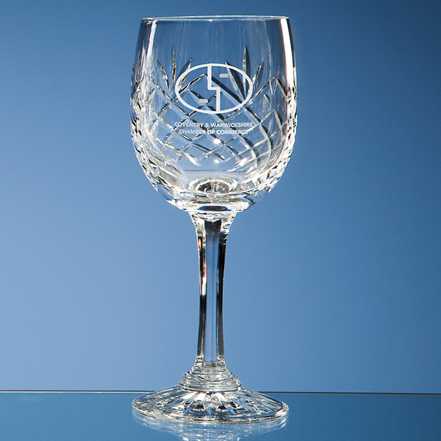 Engraved Crystal Bar Glasses