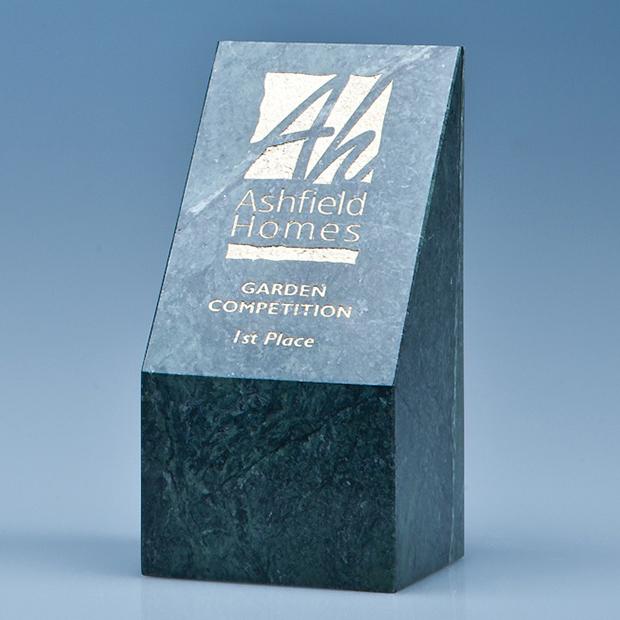 15cm Green Marble Slope Award*