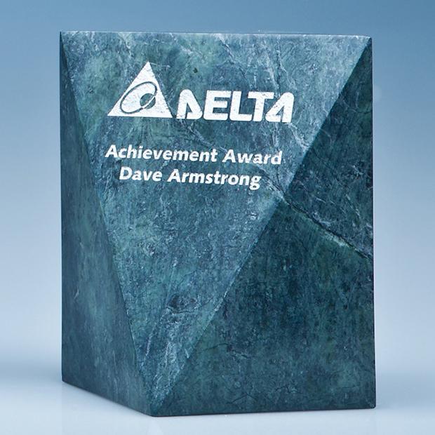 15cm Green Marble Glacier Award*