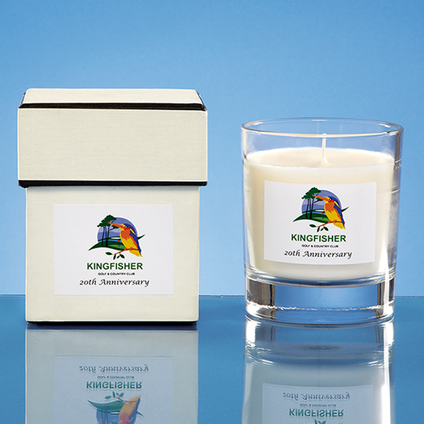 9.5cm Personalised Scented Home Candle