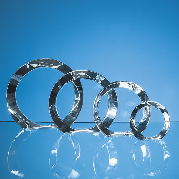 10cm Optical Crystal Elite Circle Award