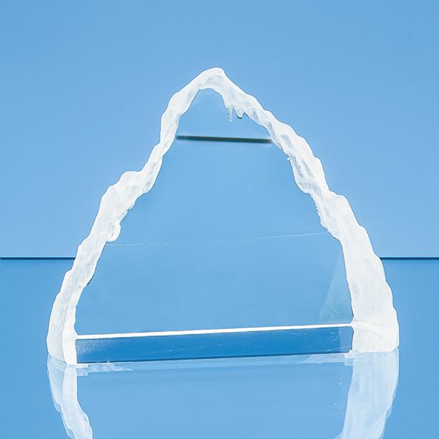 10.5cm Optical Crystal Matterhorn Award