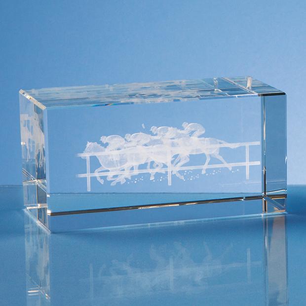 12cm Optical Crystal Rectangle*