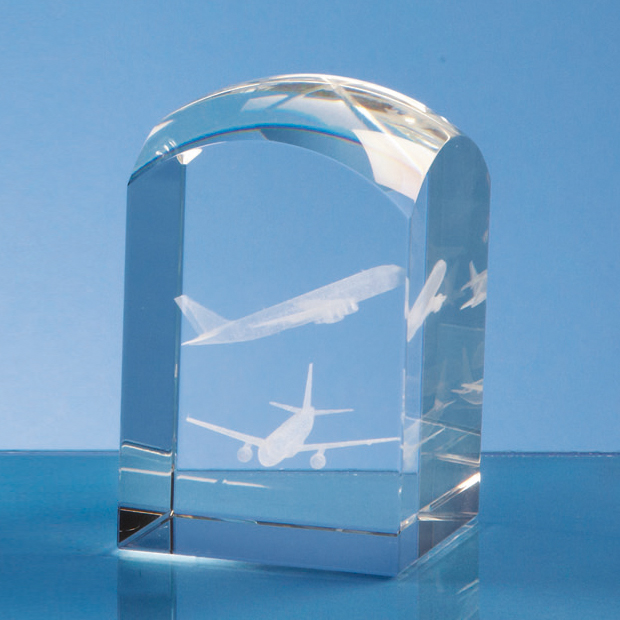8cm Optical Crystal Dome Tower*