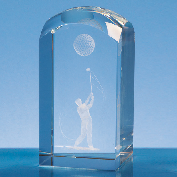 12cm Optical Crystal Dome Tower*