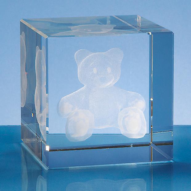 8cm Optical Crystal Cube*