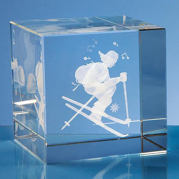 10cm Optical Crystal Cube*