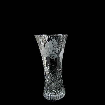 6 inch Waisted Vase Grapevine