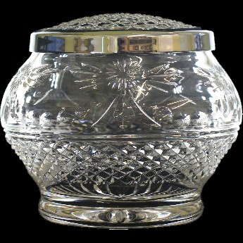 Beaconsfield Round Sided 6 Inch Rose Bowl