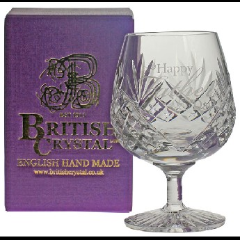 Westminster 12oz Brandy Glass Happy Fathers Day