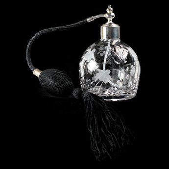 Oval Perfume Bottle Cascade