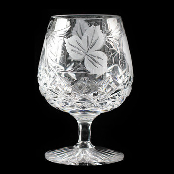 Grapevine 12oz Brandy Glass
