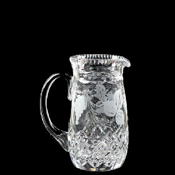 2 Pint Slim Pitcher Jug Grapevine
