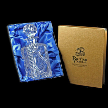Presentation Box of a Celebration Square Decanter