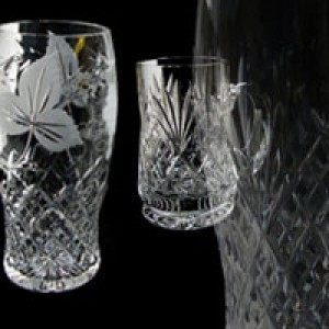 Crystal Tankards & Beers Glasses