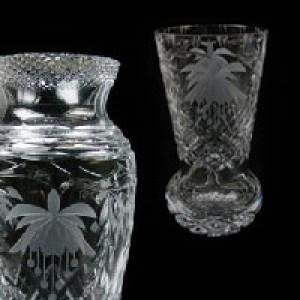 Crystal Vases, Cone Vases, Footed Vases & Crystal Urns